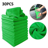 30 x Large Microfibre Cleaning Auto Car Detailing Soft Cloths Wash Towel Duster