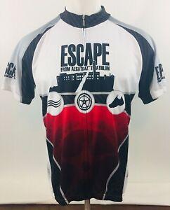 Suarez Escape From Alcatraz Full Zipp Triathlon Cycling Bike Jersey SZ 2XL