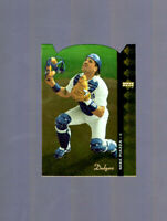 1994 Upper Deck SP die cut #80 Mike Piazza Los Angeles Dodgers
