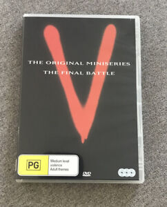 DVD Disc - V THE ORIGINAL MINISERIES & THE FINAL BATTLE - Region 4 PAL
