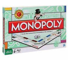 Jeu de société Monopoly - Nouveau dé pour parties rapides  Hasbro  8 pions métal