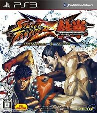 Used PS3 Street Fighter X Tekken  SONY PLAYSTATION 3 JAPAN JAPANESE IMPORT