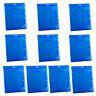 10pcs 10mm Blu Ray Logo Plastic Blue Case DVD CD One Media Disc Storage Sleeve