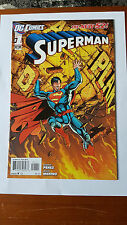 Superman 1 and 2 New 52 1st print VF/VF+