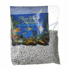 LM Pure Water Pebbles Aquarium Gravel Snow White - 2 lbs
