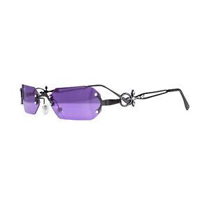 Adult Gothic Vampire Purple Glasses