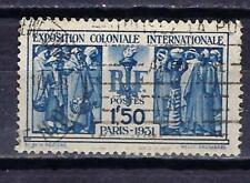 France 1930 Exposition coloniale (3) Yvert n° 274 oblitéré 1er choix