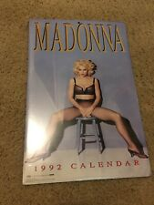 Vintage 1992 Rock Express Madonna Calendar from USA NEW/SEALED