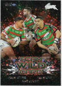 2021 Nrl Traders PRIORITY Team Wild Card Group (WCG12) RABBITOHS 44/45