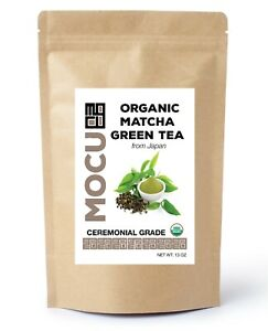 13 OZ CERTIFIED ORGANIC CEREMONIAL GRADE MATCHA GREEN TEA (from Japan)