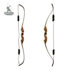 New 50lbs Archery Hunting Shooting Black Laminate Take down Recurve Bow