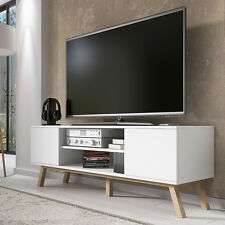 Scandinavian Style TV Unit STUDIO WOOD TV Stand Cabinet Lowboard