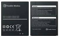 New OEM Original Genuine Franklin Wireless R850 Mobile Hotspot Battery 2450mAh
