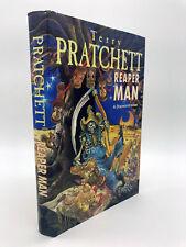 Terry Pratchett Reaper Man 1st edition 1st print UK Discworld Hardback V.Good