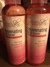 2 Brilliant Skin Rejuvenating Facial Toner Exfoliant Toner Anti-Acne Lightening