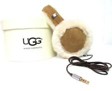 NEW UGG WOMEN CLASSIC WIRED SHEEPSKIN EARMUFF SPEAKER TECHNOLOGY CHESTNUT 11976