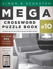 Simon & Schuster Mega Crossword Puzzle Book #10 by