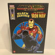 """2020 Hasbro Pulse Marvel Legends Black Panther and Iron Man 3.75"""" Action Figures"""