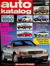 Autokatalog - AMS - Auto Motor und Sport 1990 - Nr.33
