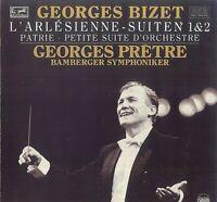 Georges Bizet,~ L'Arlesienne Suiten 1 & 2 -Patrie -Petite Suite D' Orchestre