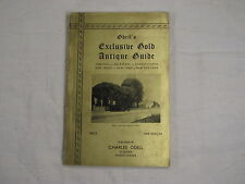 Odell's Exclusive Gold Antique Guide - New England; New York; New Jersey Virgini