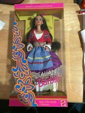 NEW 1992 Dolls of the World ITALIAN BARBIE Special Edition NRFB #2256 Italy