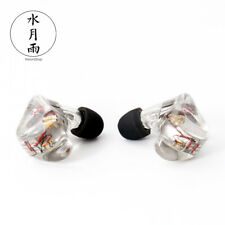 Moondrop A8 8 Balanced Armature 16 Drivers Stage In-ear Earphones Clear