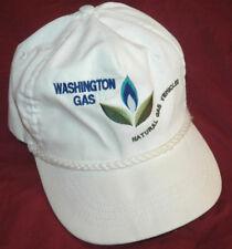 Rare WASHINGTON DC NATURAL GAS VEHICLES Baseball Cap HAT Logo ECO Vtg USA MADE
