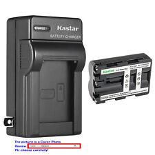 Kastar Battery Wall Charger for Sony NP-FM500H & Sony Alpha ¦Á57 a57 SLT-A57