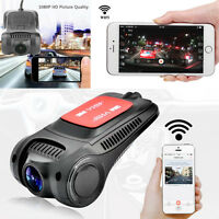 170° Full HD 1080P Car Wifi Hidden Camera DVR Dash Cam Video Recorder G-Sensor