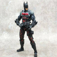 "6"" Batman Red Hood 2in1 Action Figure DC Arkham Asylum Robin Hero Toy"