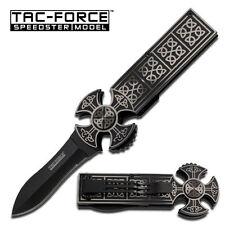 TAC-FORCE  A/O Celtic TF-788GYB Partial Serrated Folding Knife NIB