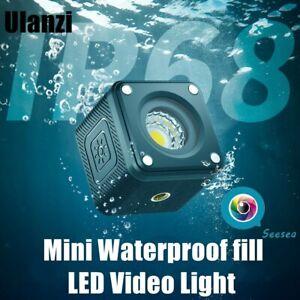 Ulanzi L2 Cute Lite 10M Waterproof LED Light RGB Dimmable Video Light For Gopro