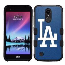 for LG K20 Plus/LG V5 Impact Armor Rugged Hybrid Case Los Angeles Dodgers #B