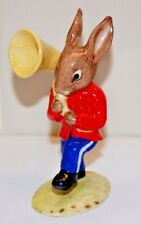 VINTAGE ROYAL DOULTON SOUSAPHONE BUNNYKINS FROM THE OOMPAH BAND DB23