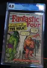 Fantastic Four 12 CGC 4.0 OW/W