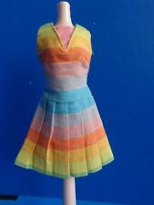 "VINTAGE BARBIE DRESS TO ""FUN 'N GAMES"" OUTFIT #1619 1965-66"