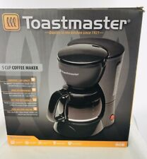 Toastmaster New 5 Cup Coffee Maker Black Color