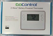 GoControl Z-Wave Battery-Powered Thermostat GC-TBZ48