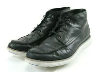 Cole Haan Lunargrand Men's $140 Chukka Boots Size 9.5 Leather Black