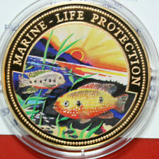 """Ghana 100 Sika 2000 """"Marine Life Protection"""" #F3356,Coloured """"Roter Buntbarsch"""""""