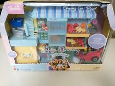 Barbie Happy Family Neighborhood Shopping Fun Grocery Set