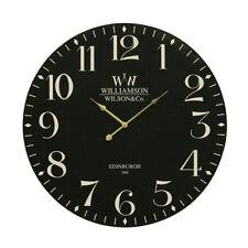 Premier Housewares Classical Wall Clock - 60cm Black
