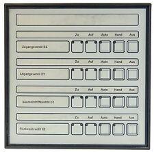 RINCK HER 401 Tablo Handbedientableau SPS Steuerung Bedientableau Panel 24V DC
