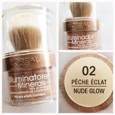 illuminante viso L'OREAL minerals polvere luminosa allover shimmer PECHE NUDE 02