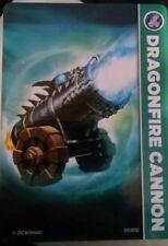 Dragonfire Cannon Skylander Giants Stat Card Only!