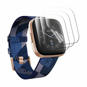 For Fitbit Versa 2 Clear TPU Screen Protector Guard