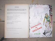 Anuario De Ciclismo 1949 Montes Ranuras Gazzetta Suplemento Cycling Radsport
