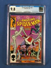 MARVEL COMICS CGC 9.8 AMAZING SPIDER MAN 263 4/85 WHITE PAGES