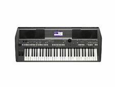 Yamaha PSR S670 Portable Arranger Workstation Keyboard - Black
